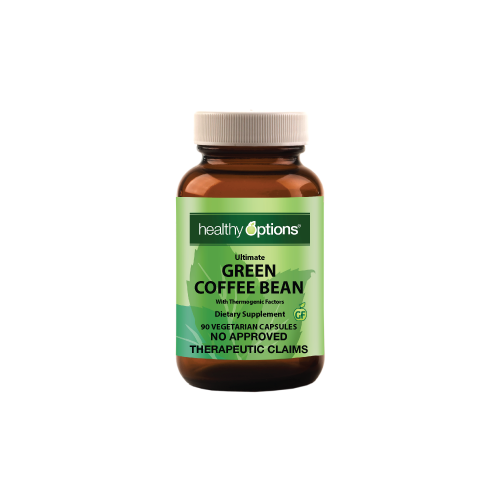 Healthy Options Green Coffee Bean Extract 90 Capsules