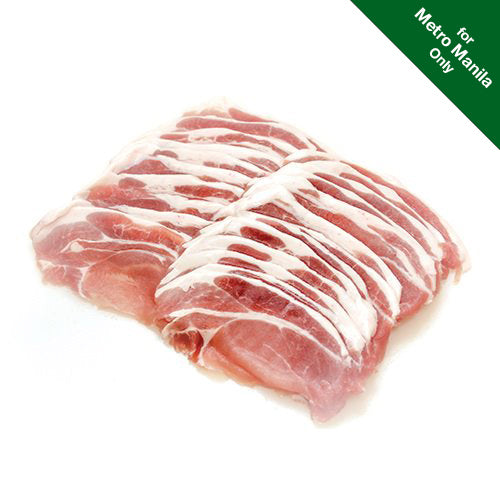 Frozen Healthy Options All-Natural Pork Loin Slices (3mm) 500g