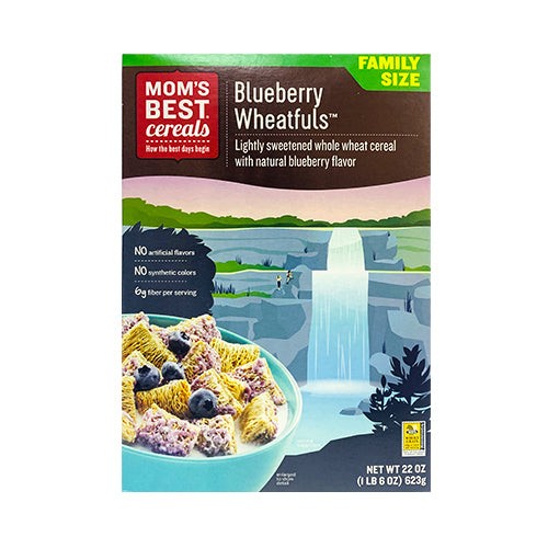 Mom's Best Cereals Blueberry Wheatfuls 623g