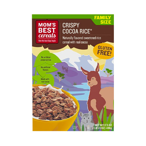 Mom's Best Cereals Crispy Cocoa Rice 496g