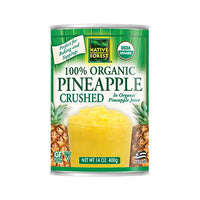 Native Forest Organic Pineapple Crushed 400g