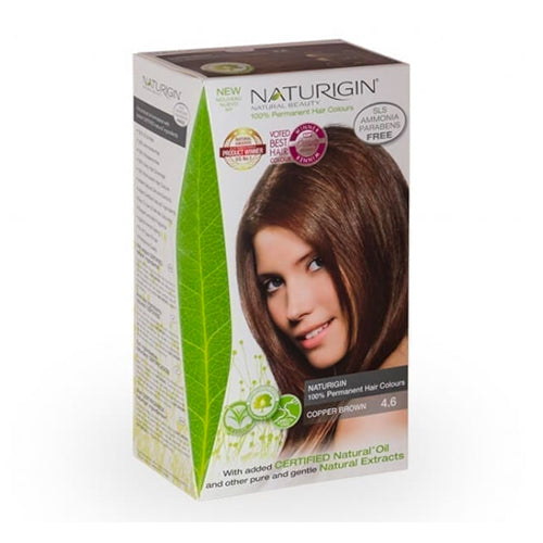 Naturigin 4.6 Copper Brown 100% Permanent Hair Colour