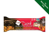 Nugo Dark Chocolate Pretzel with Sea Salt Bar 50g