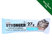 Nugo Stronger Cookies & Cream Bar 80g