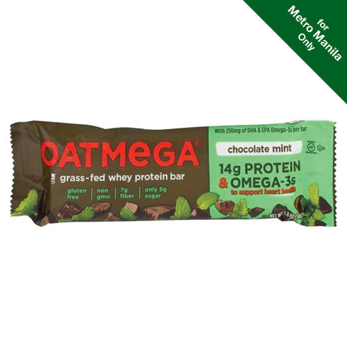 Oatmega Chocolate Mint Crisp Bar 50g