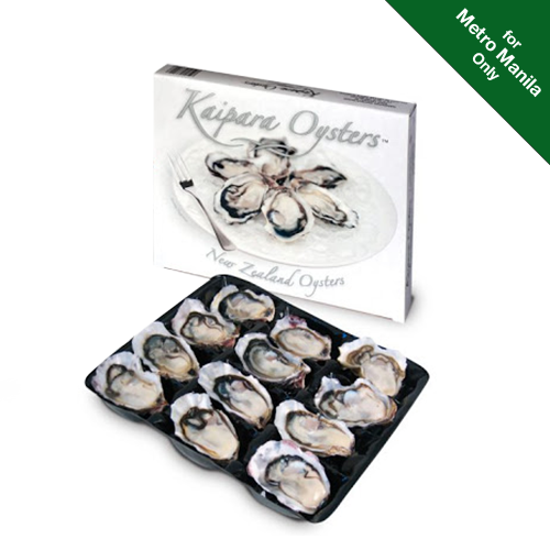 Frozen Kaipara New Zealand Oysters - Half Shell (1 Dozen)