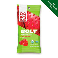 Pro Bar Organic Strawberry Bolt Energy Chews 60g