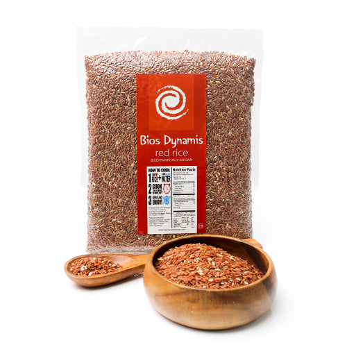 Bios Dynamis Organic Red Rice 1kg