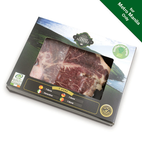 Irish Nature Organic Beef T-Bone 300g (Frozen)