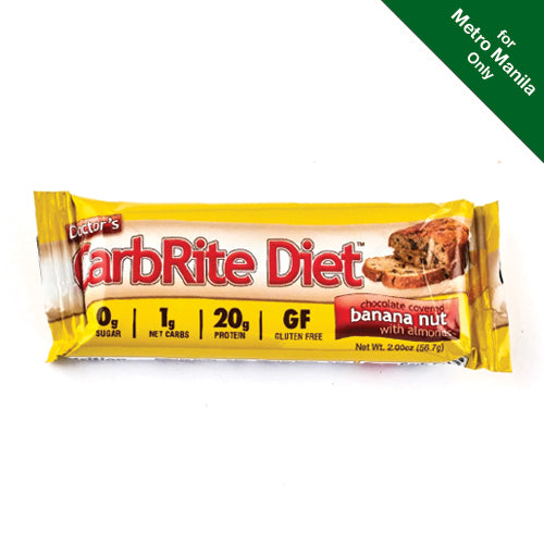 Universal Nutrition Doctor's CarbRite Diet Chocolate Covered Banana Nut With Almonds 57g