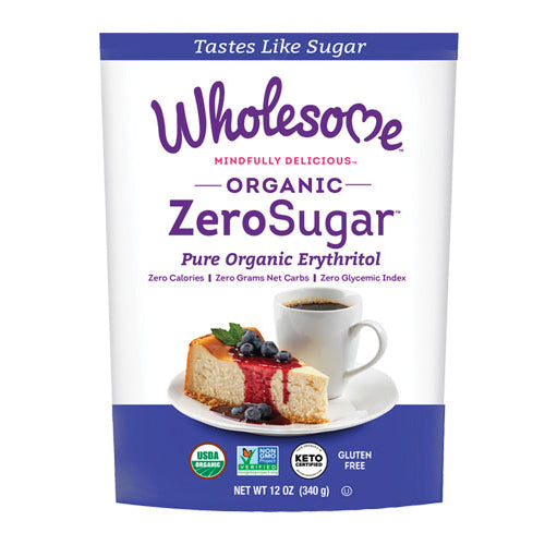 Wholesome Organic ZeroSugar Erythritol 340g