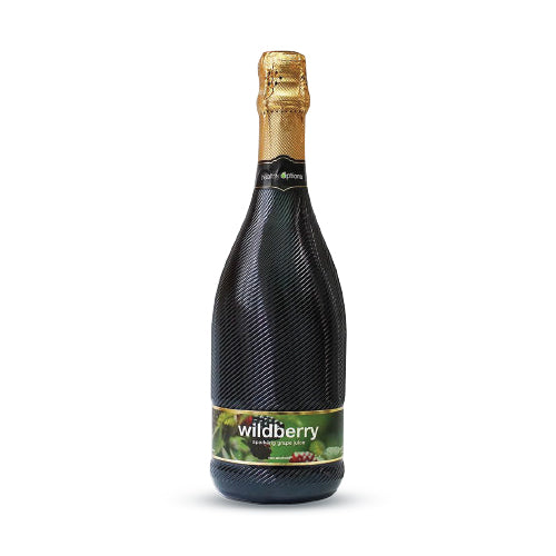 Healthy Options Wildberry Sparkling Grape Juice 750ml
