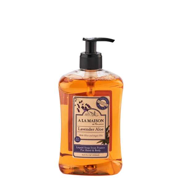 A La Maison Lavender Aloe Liquid Soap 500ml
