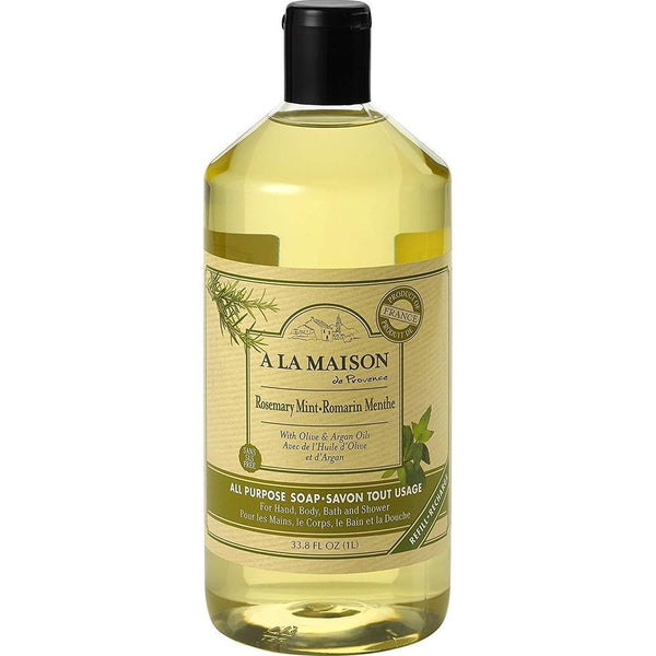 A La Maison Rosemary Mint All Purpose Soap 1000ml