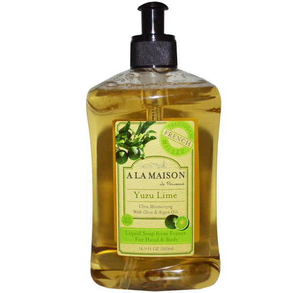 A La Maison Yuzu Lime Liquid Soap 500ml