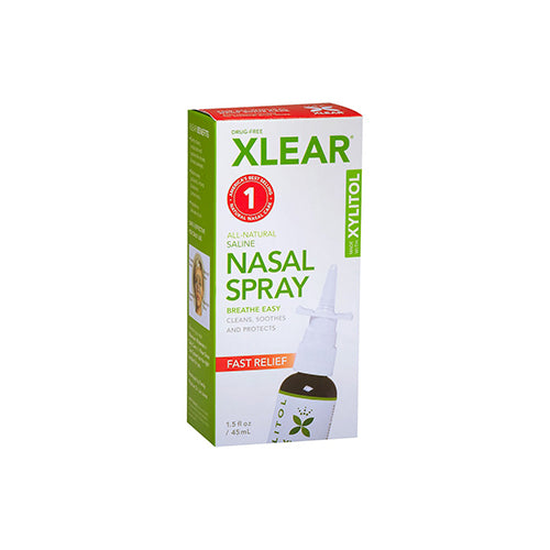 Xlear All Natural Saline Nasal Spray 45ml