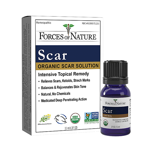 Forces of Nature Organic Scar Solution 11ml