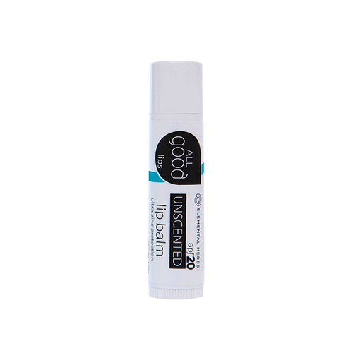 All Good Unscented Lip Balm SPF 20 4.25g