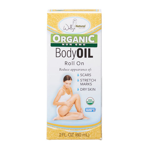 Wally's Natural Organic Body Oil Roll-on 60ml