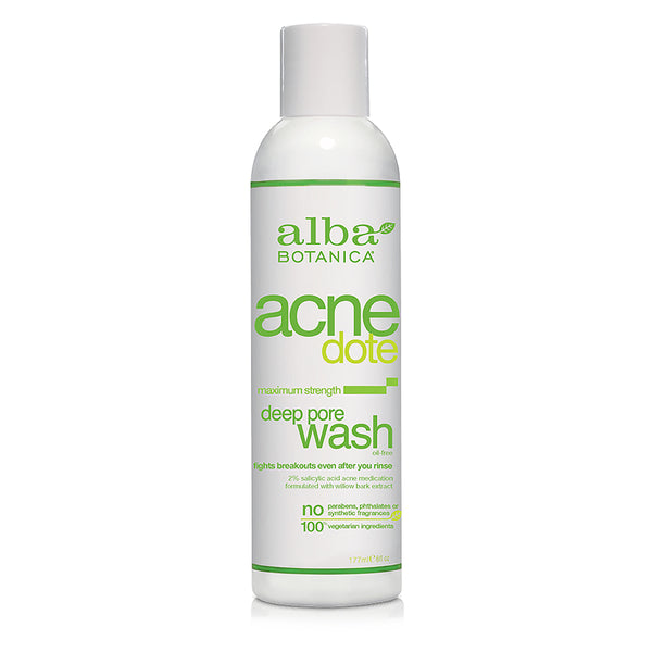 Alba Botanica Acnedote Deep Pore Wash 177ml