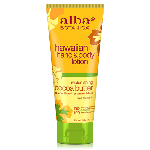 Alba Botanica Hawaiian Hand & Body Cocoa Butter Lotion 198g