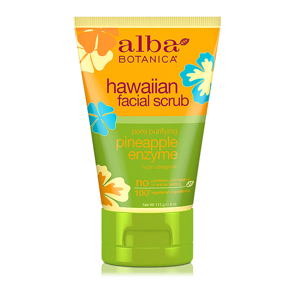 Alba Botanica Hawaiian Pineapple Facial Scrub 113g