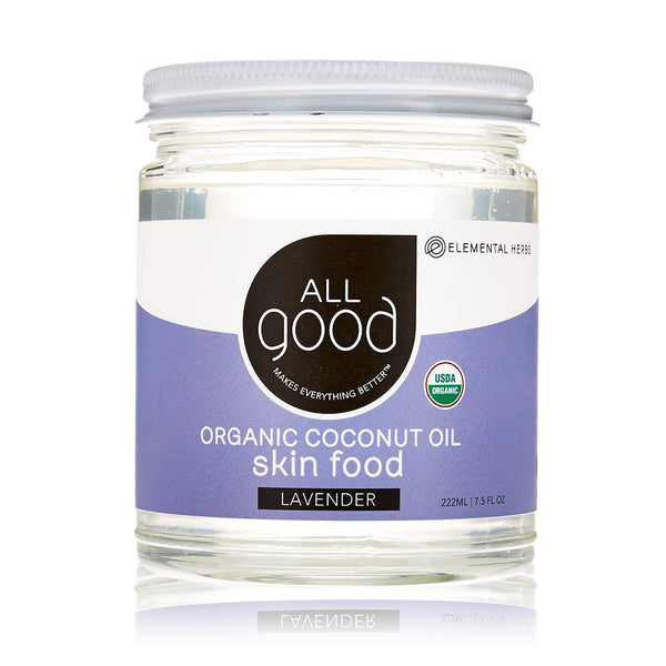All Good Lavender Coconut Oil 222ml