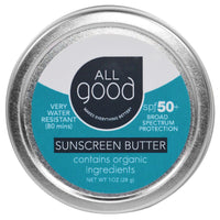 All Good Water-Resistant Mineral Sunscreen Butter SPF 50 28g