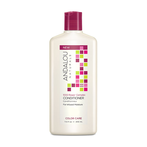 Andalou Naturals 1,000 Roses Color Care Conditioner 340ml