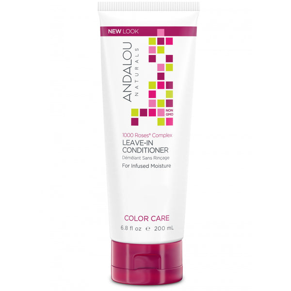 Andalou Naturals 1,000 Roses Color Care Leave-in Conditioner 200ml