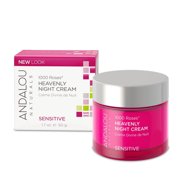 Andalou Naturals 1,000 Roses Heavenly Night Cream 50g