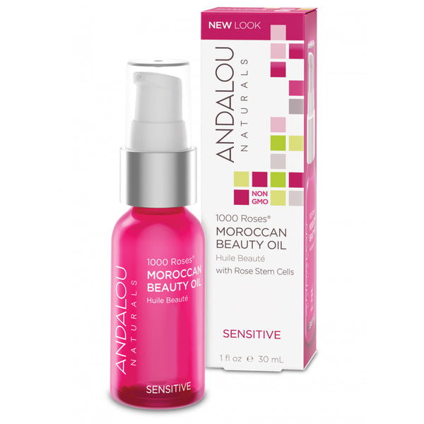 Andalou Naturals 1,000 Roses Moroccan Beauty Oil 30ml