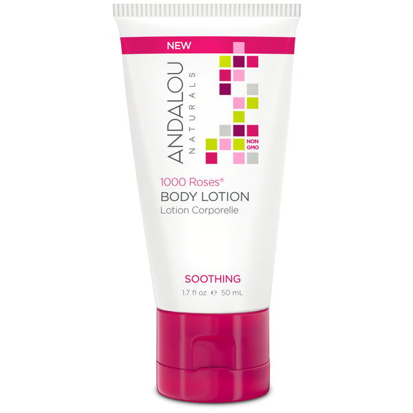 Andalou Naturals 1,000 Roses Travel Body Lotion 50ml