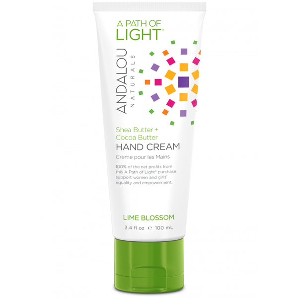 Andalou Naturals A Path of Light Lime Blossom Hand Cream 100ml