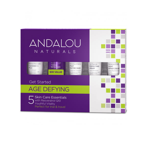 Andalou Naturals Age-Defying Get Started Kit