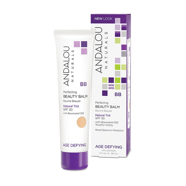 Andalou Naturals Age-Defying Perfecting BB Beauty Balm Natural Tint SPF 30 58ml