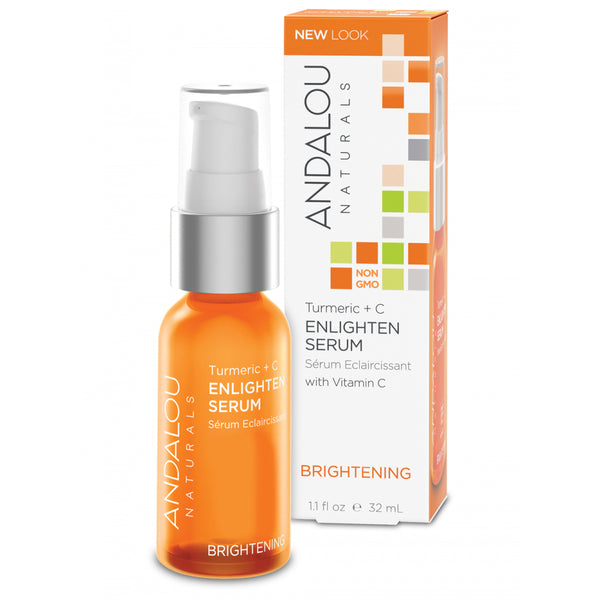 Andalou Naturals Brightening Turmeric + Vitamin C Enlighten Serum 32ml