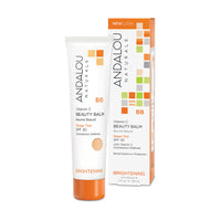 Andalou Naturals Brightening Vitamin C BB Beauty Balm Sheer Tint SPF 30 58ml