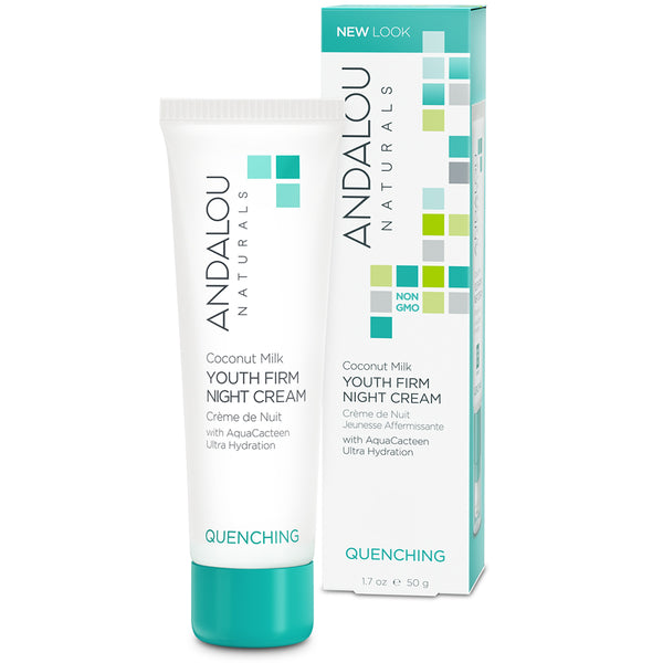 Andalou Naturals Quenching Youth Firm Night Cream 50g