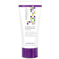 Andalou Naturals Refreshing Lavender Thyme Shower Gel 251ml