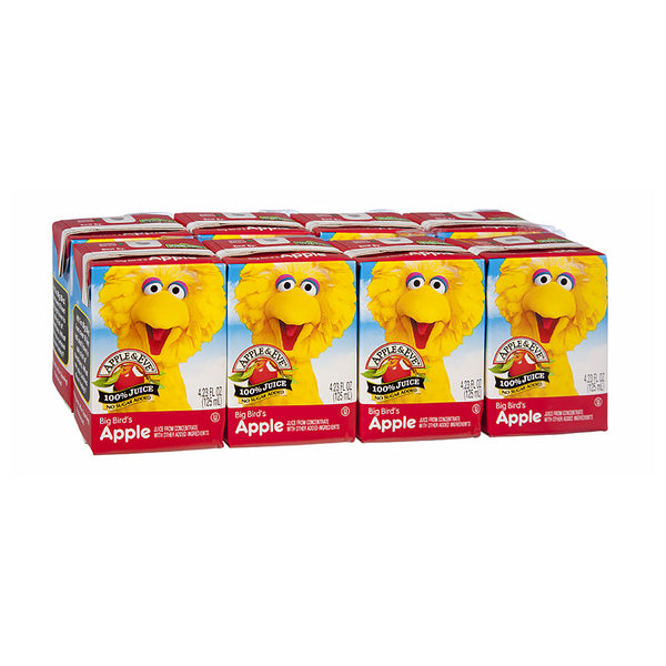 Apple & Eve Big Bird's Apple Fruit Juice 8 pack 125ml