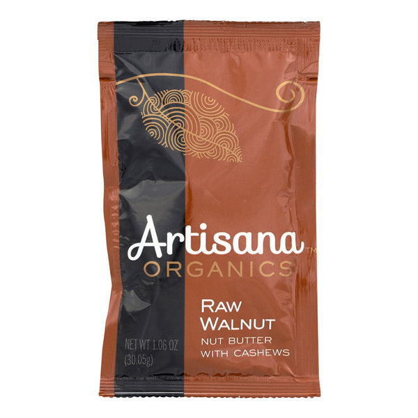 Artisana Organics Raw Walnut Butter with Cashews Squeeze Pack 30g