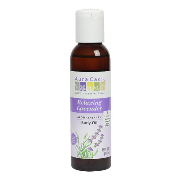 Aura Cacia Relaxing Lavender Body Oil 118ml