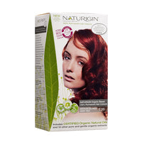 Naturigin 7.55 Medium Blonde Deep Red 100% Permanent Hair Colour