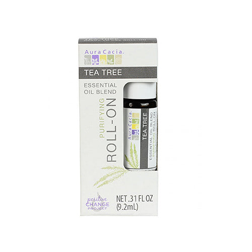 Aura Cacia Tea Tree Purifying Roll-On 9.2ml