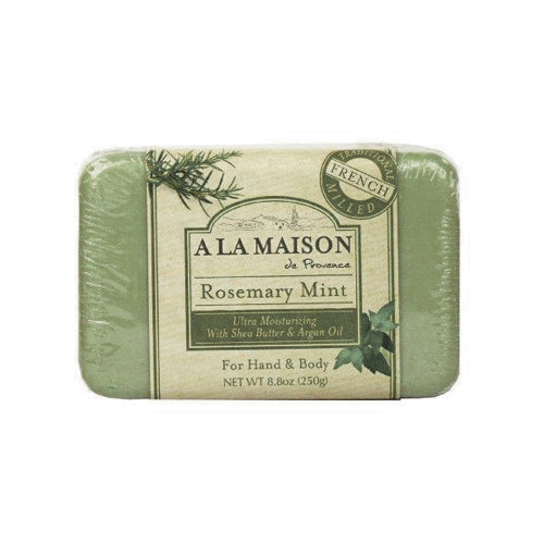 A La Maison Rosemary Mint Bar Soap 250g