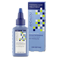Andalou Naturals Scalp Intensive Thinning Hair Treatment 62ml