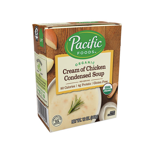 Pacific Organic Cream of Chicken Condensed Soup 340g