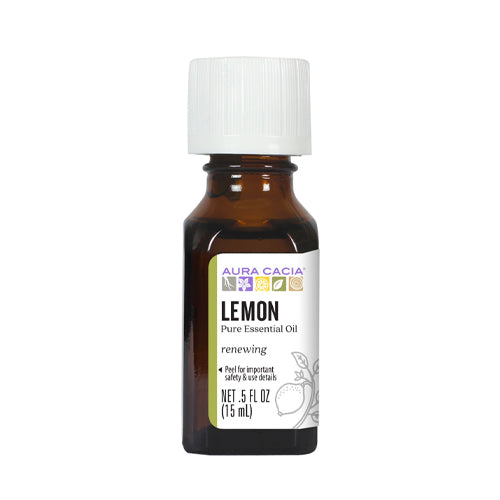 Aura Cacia Lemon Essential Oil 15ml