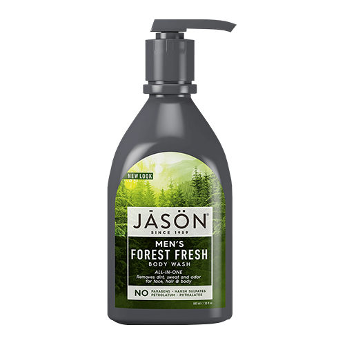 JASON Men's ALL-IN-ONE Forest Fresh Body Wash 887ml